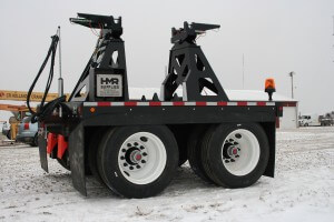 2 axle boom dolly