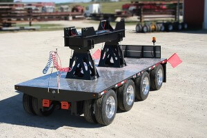 4 axle boom dolly