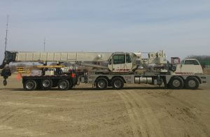 photo of a 3 Axle Crane Boom Dolly